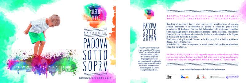 cartolina Padova Sotto Sopra