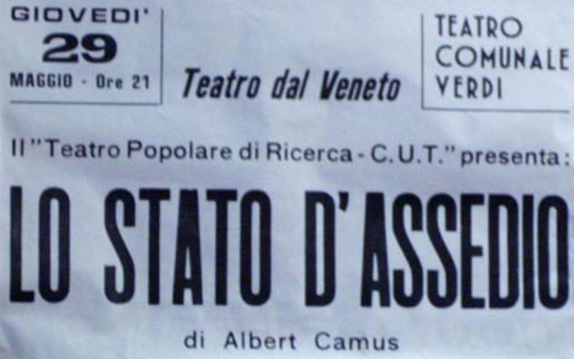 Teatro Popolare di Ricerca-Centro Universitario Teatrale